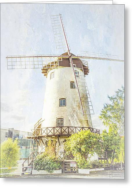 The Penny Royal Windmill Greeting Card