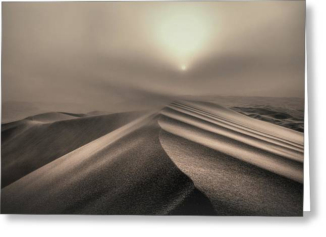 The Perfect Sandstorm Greeting Card