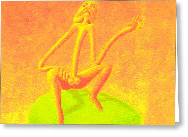 The Philosopher Greeting Card by Genio GgXpress