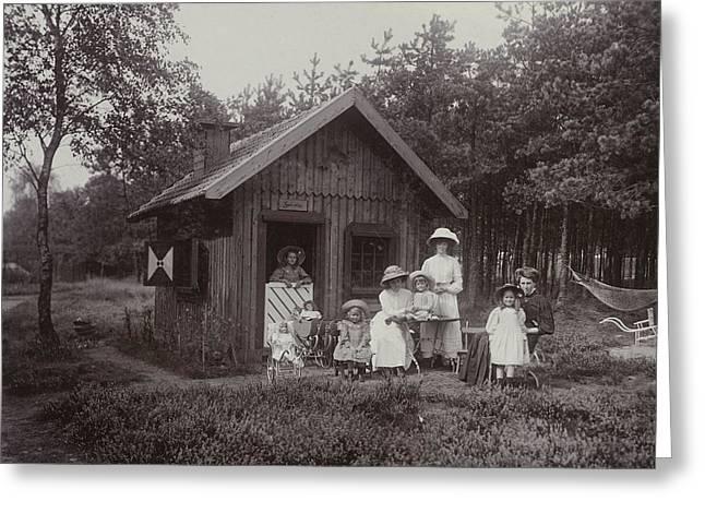 The Photographers Children, Renee, Thelma Greeting Card