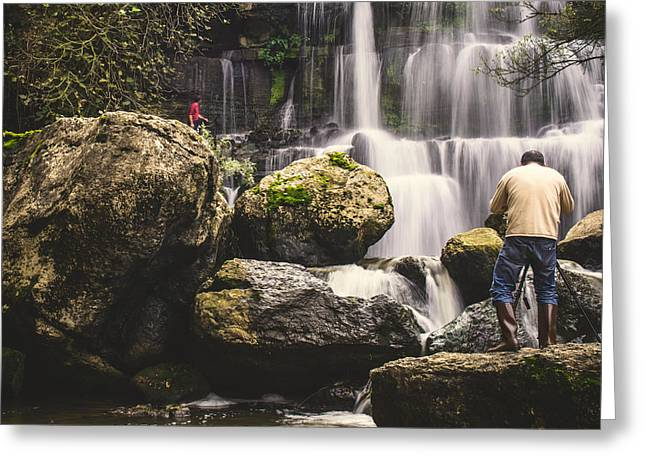 The Photographer's Quest Vi Greeting Card by Marco Oliveira