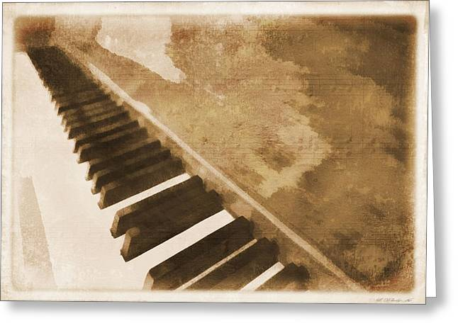 The Piano Greeting Card