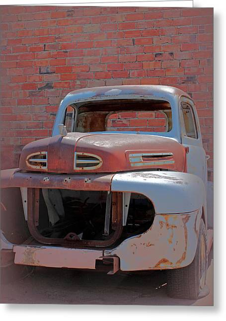 The Pick Up Greeting Card by Lynn Sprowl