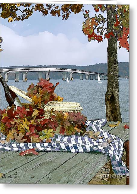 The Picnic Greeting Card