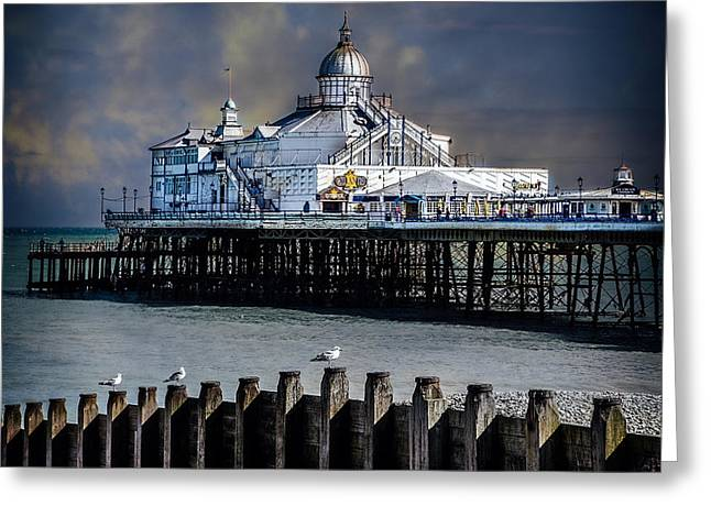 The Pier At Eastbourne Greeting Card by Chris Lord