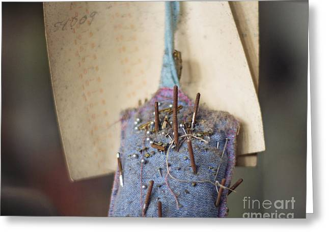 The Pincushion Greeting Card by Jillian Audrey Photography