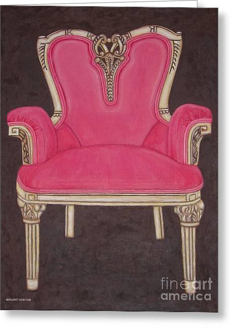 The Pink Chair Greeting Card