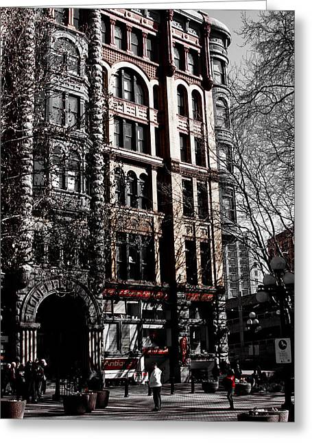 The Pioneer Building - Seattle Washington Greeting Card