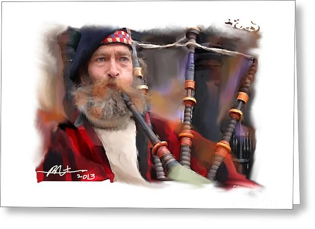 The Piper Greeting Card