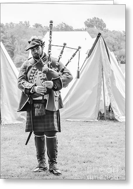 The Piper Greeting Card by Megan Stahl