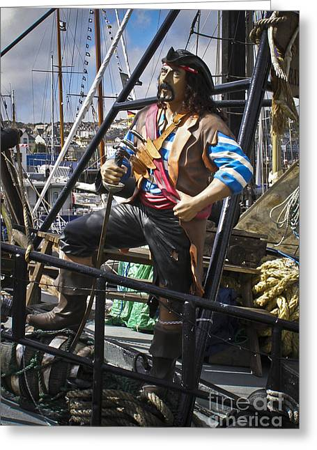 The Pirate Of Penzance Greeting Card by Terri Waters