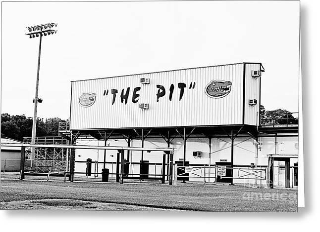 The Pit Greeting Card by Scott Pellegrin