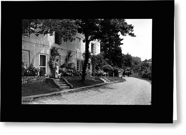 The Platt's House In New Jersey Greeting Card by Samuel H. Gottscho