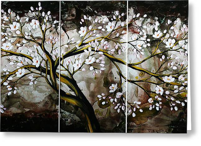 The Plum Blossom 001 Greeting Card