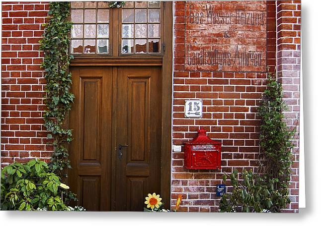 The Plumber's Home Greeting Card by RicardMN Photography