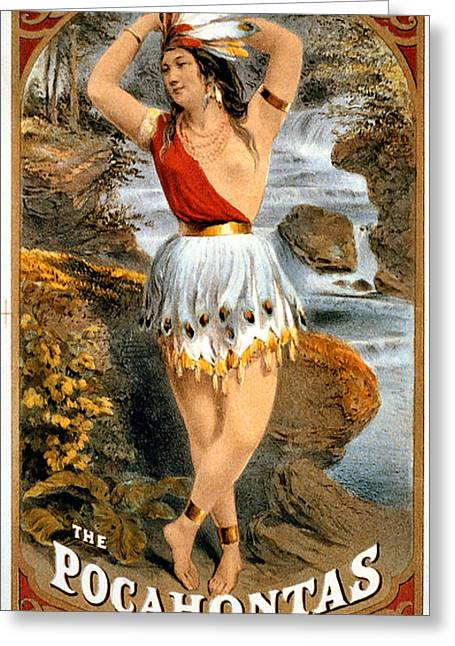 The Pocahontas Greeting Card