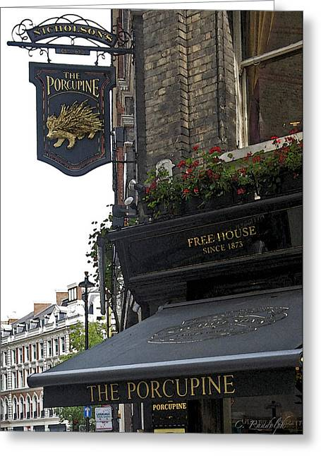 The Porcupine Pub Greeting Card