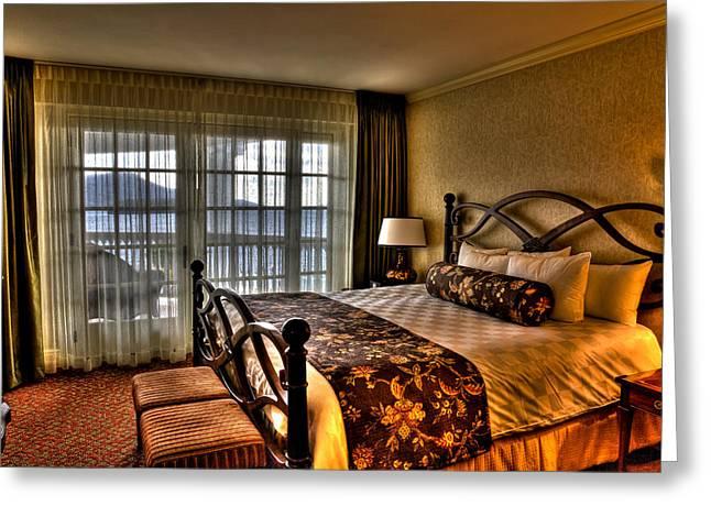 The Premier Balcony Suite - Sagamore Resort Greeting Card