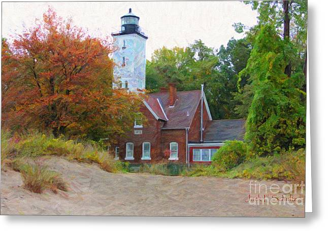 The Presque Isle Lighthouse Greeting Card