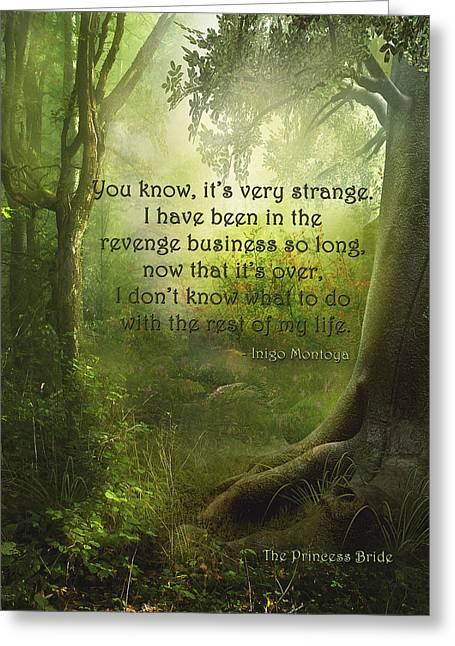 The Princess Bride - Revenge Business Greeting Card