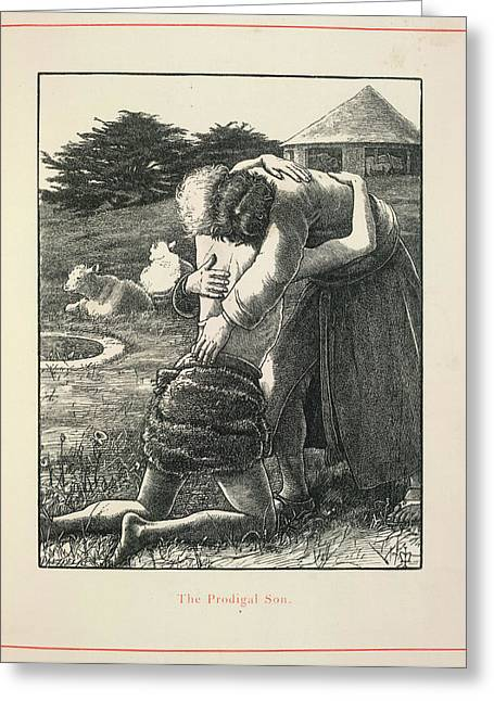 The Prodigal Son Greeting Card by British Library