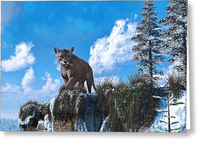 The Prowler Greeting Card