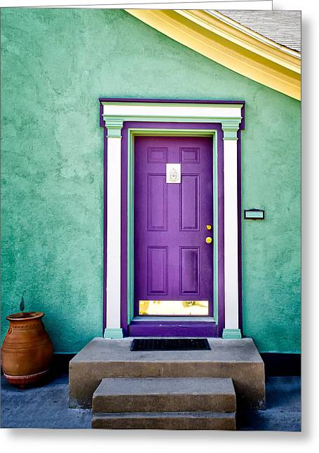 The Purple Door Greeting Card