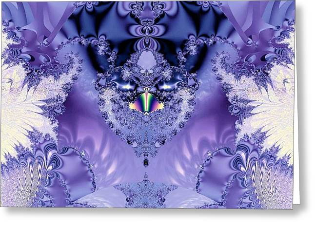 The Purple Heart Greeting Card by Maria Urso