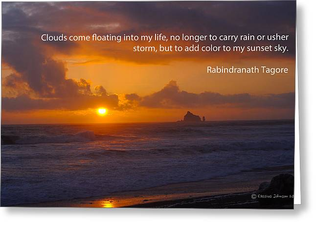 The Purpose Of Clouds 1 Greeting Card