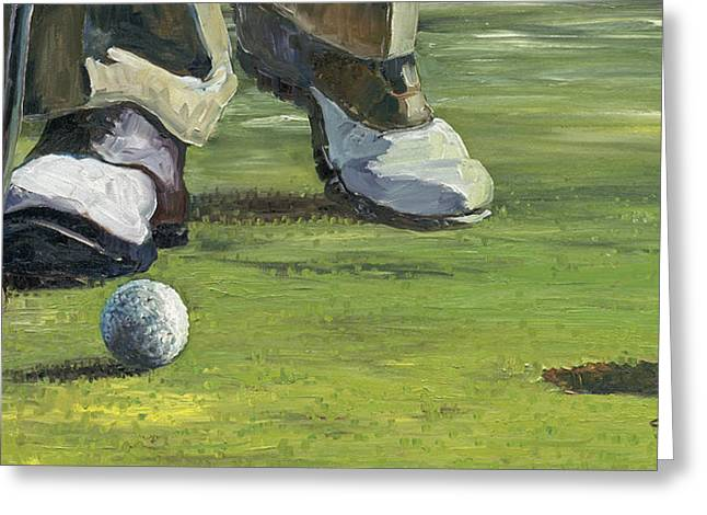 The Putt Greeting Card