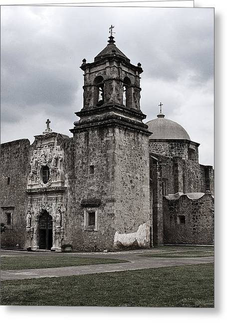 Greeting Card featuring the photograph The Queen Of Missions II by Andy Crawford