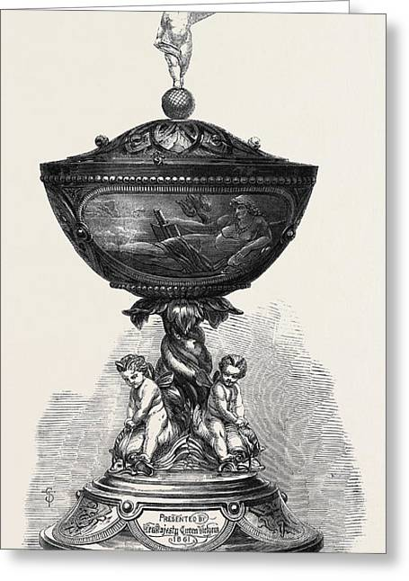 The Queens Cup Won By Mr Greeting Card