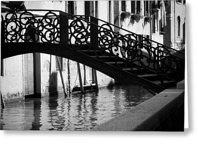 The Quiet - Venice Greeting Card