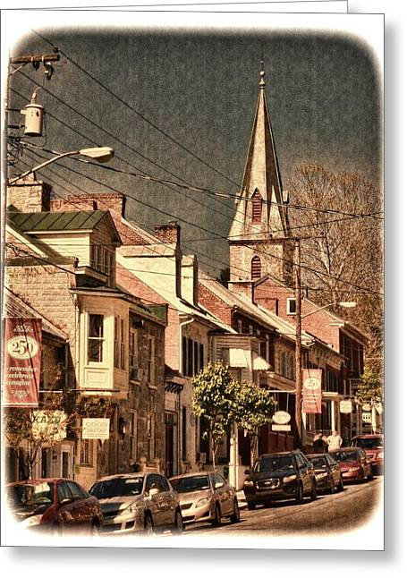 The Quintessential Semiquincentennial - Shepherdstown Wv  Greeting Card