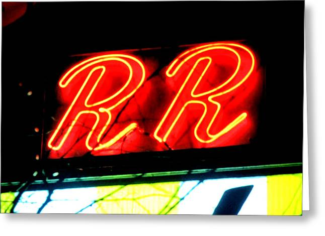 The R And R Greeting Card