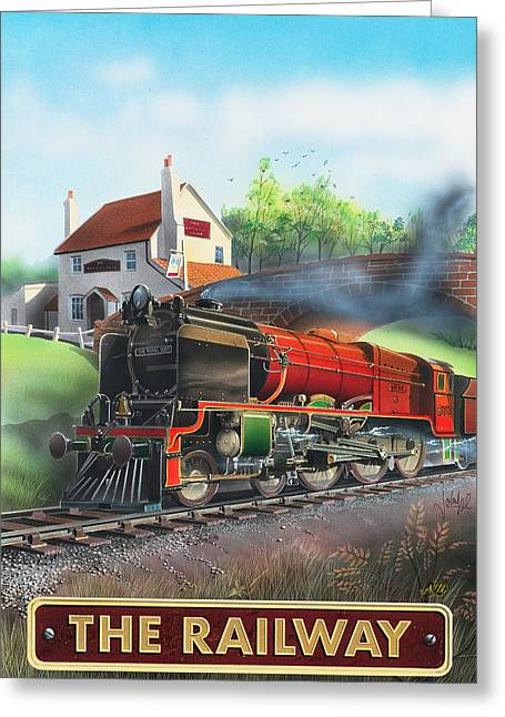 The Railway Greeting Card