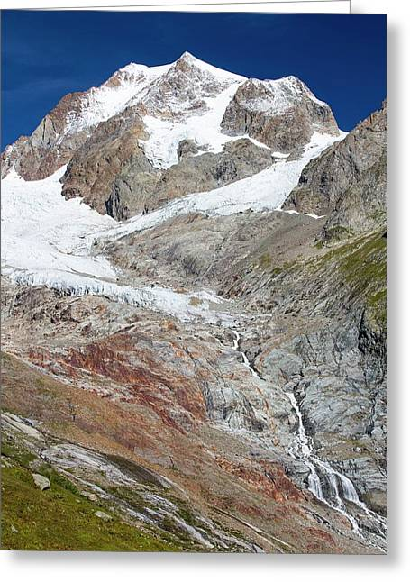 The Rapidly Retreating Glaciers Greeting Card