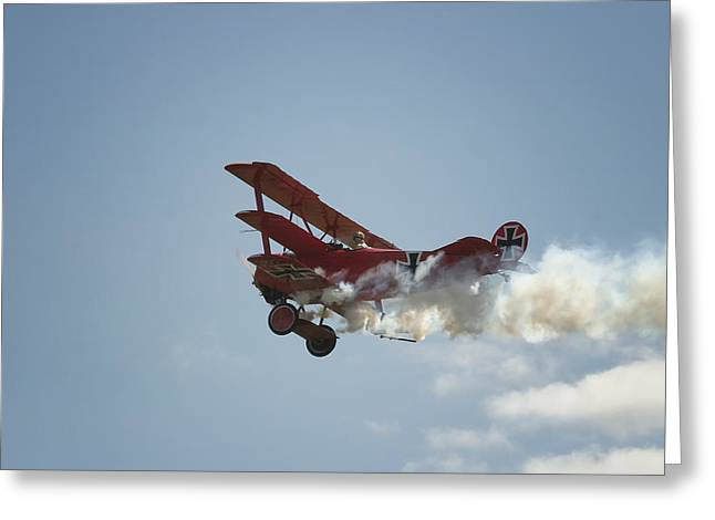 The Red Baron Greeting Card by Gary Hall