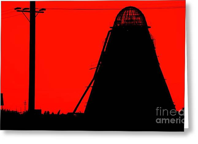 The Red Mill Greeting Card by Jessica Shelton
