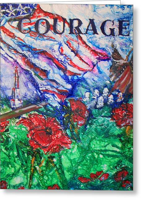 The Red Poppy Greeting Card