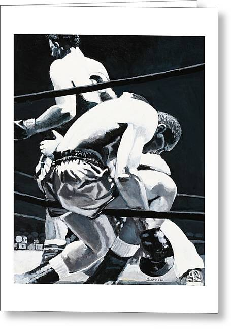The Referee Greeting Card by Mike Walrath