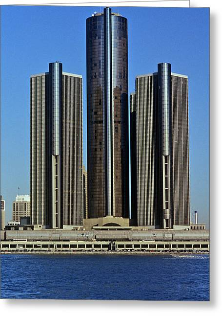 The Renaissance Center, A Skyscraper Greeting Card