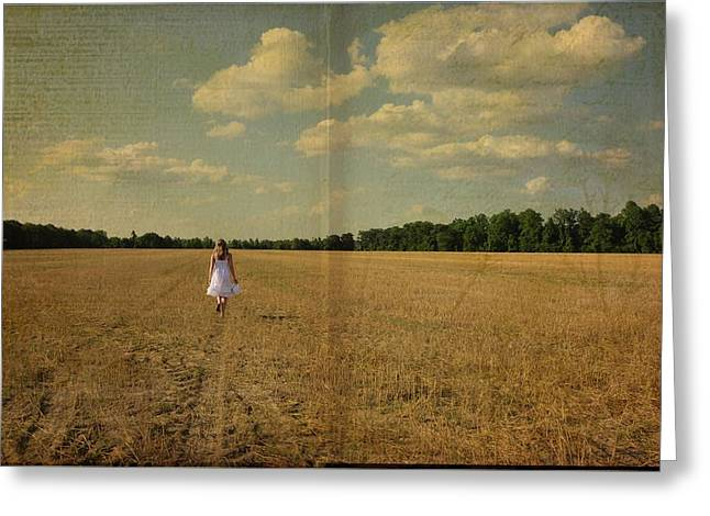 The Rest Of The Story Greeting Card by Jan Amiss Photography