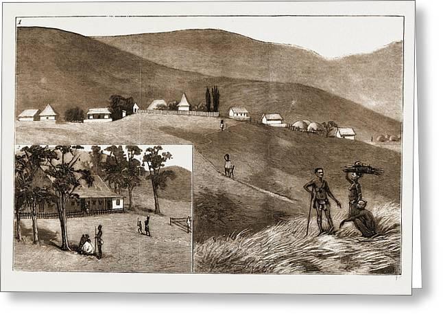 The Restoration Of Cetewayo 1. Emangete Greeting Card