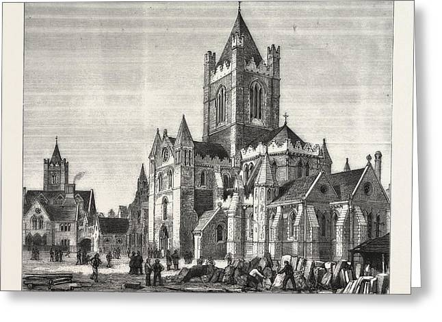 The Restoration Of Christ Church Cathedral Greeting Card