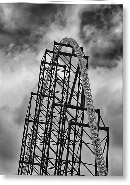 The Ride Of Steel 4k01012 Greeting Card