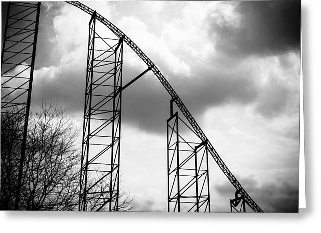 The Ride Of Steel 7k01004 Greeting Card