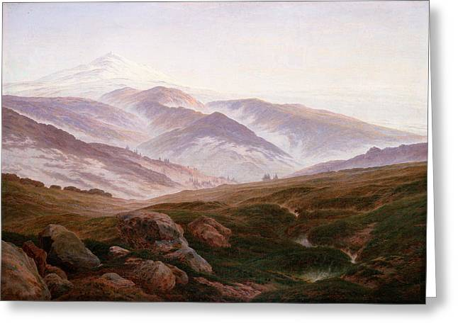 The Riesengebirge  Greeting Card by Philip Ralley