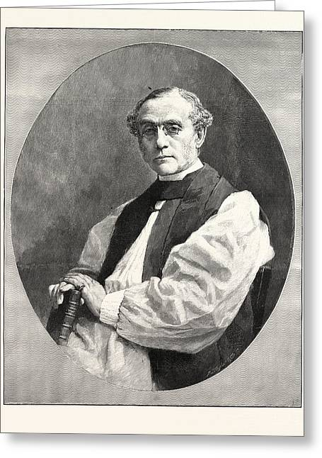 The Right Rev. Dr. W.d. Maclagan The New Archbishop Of York Greeting Card