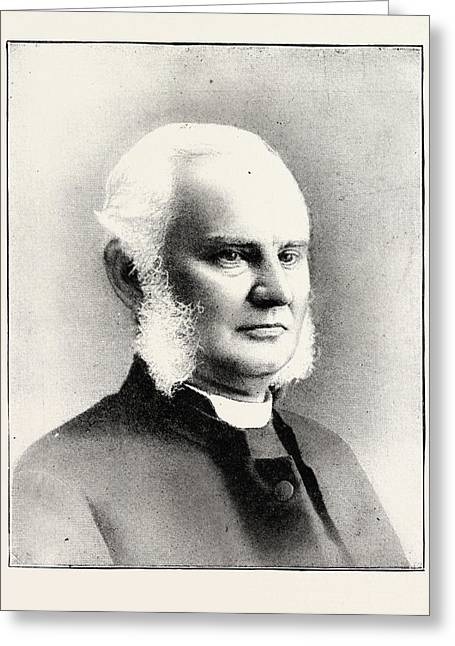 The Right Rev. Edward Parry, D.d. Bishop Of Dover Greeting Card